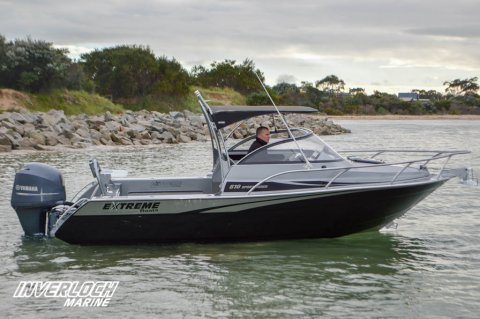 Extreme 645 Sports Fisher Plate Boat
