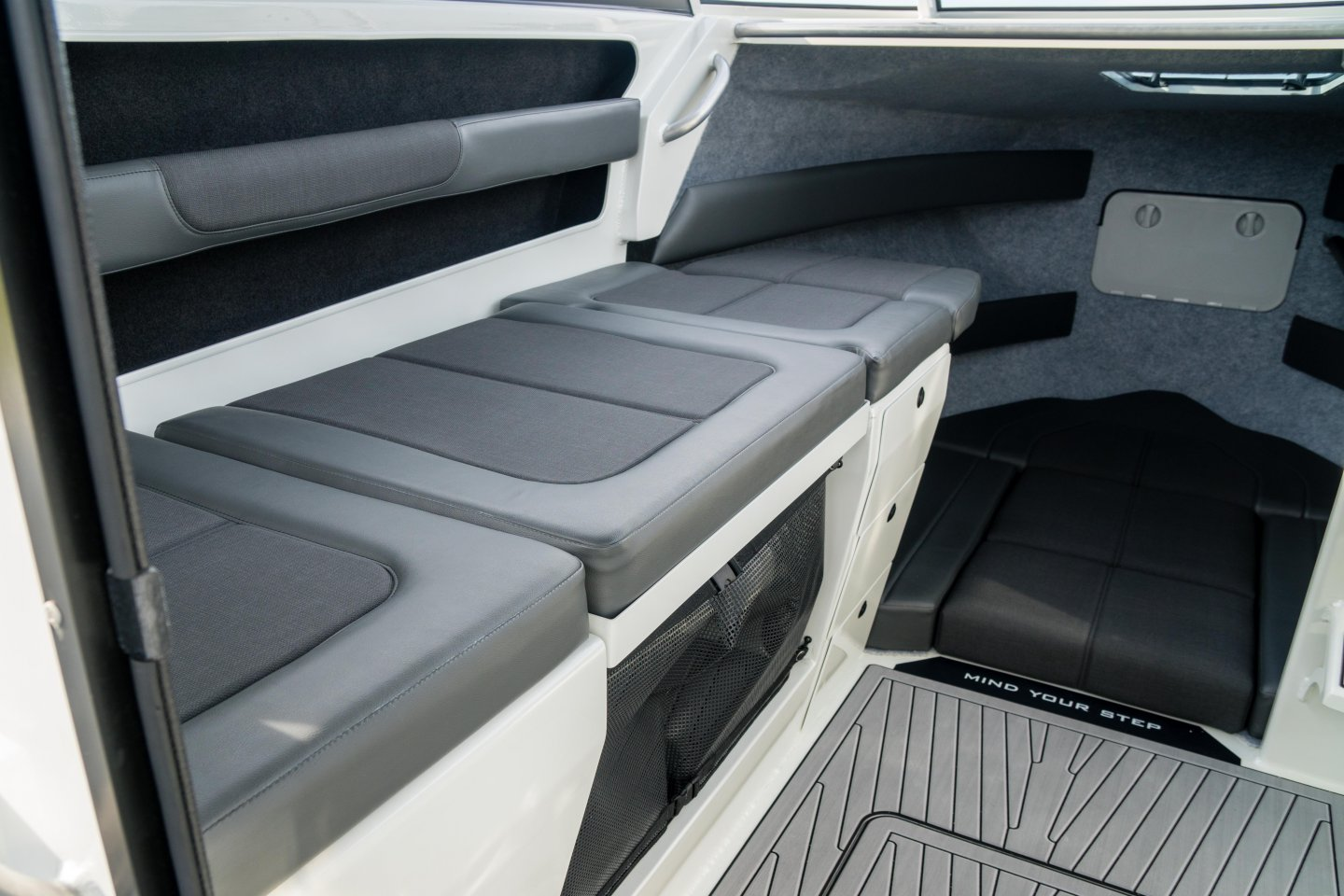 custom plate boat interior