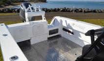 rear deck area